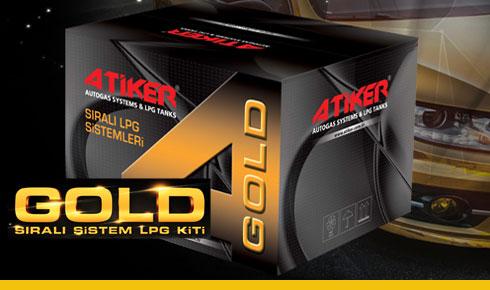 Atiker Gold Sıralı Sistem Lpg